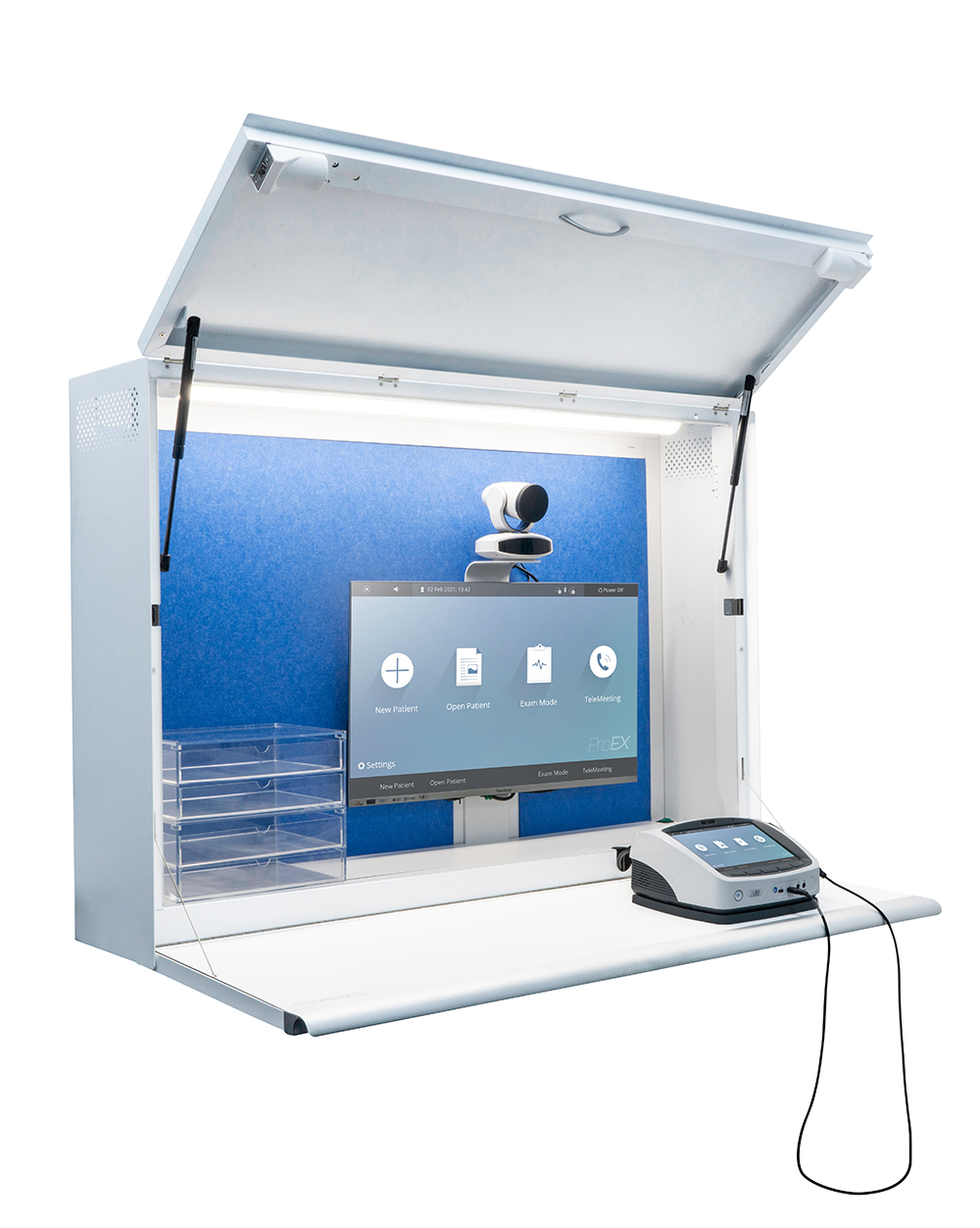 Photo of Telehealth Cabinet with ProEX System