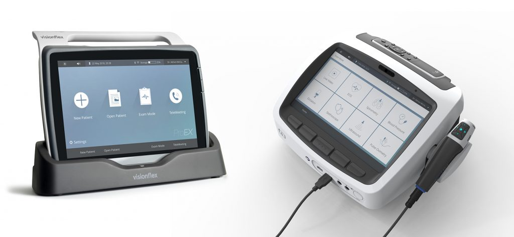 Photo of ProEX Mobile and ProEX Telehealth Desktop Hub