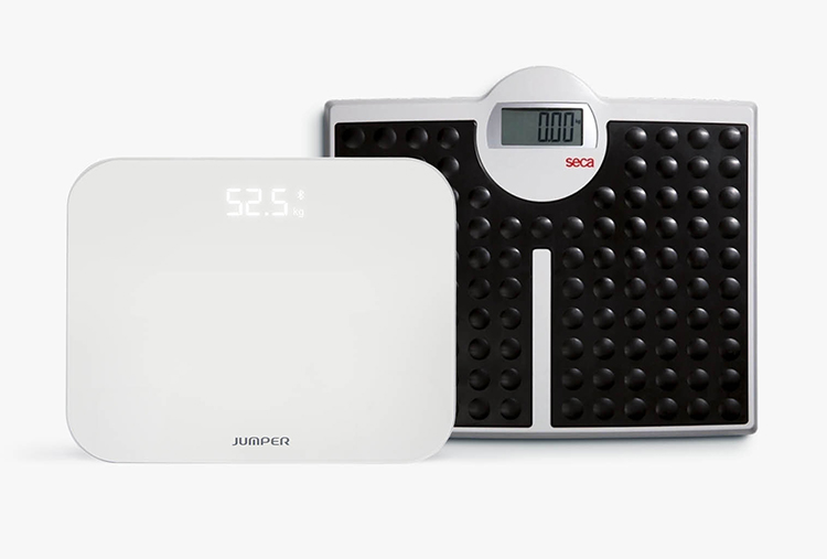 Photo of range of weighing scales